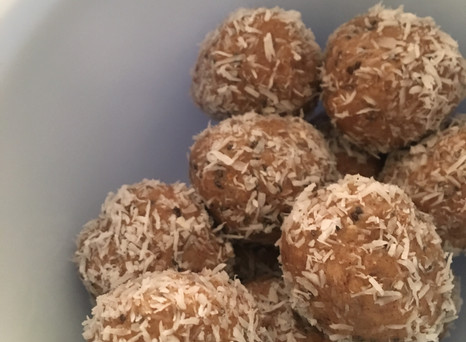 Raw Coconut Almond Bites