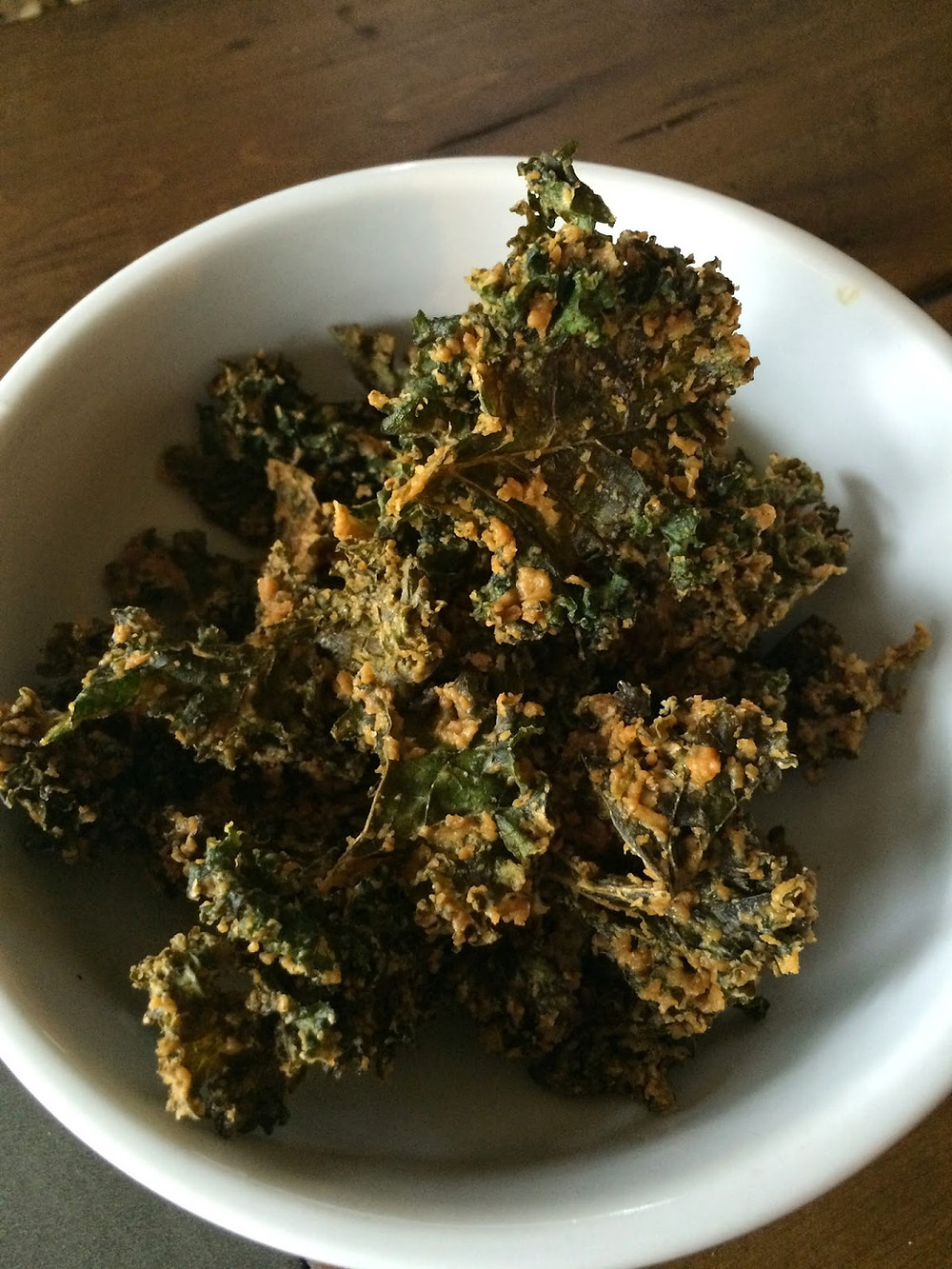 vegan nut-free kale chips