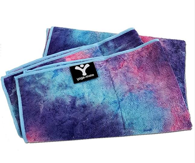 best tie-dye yoga towel