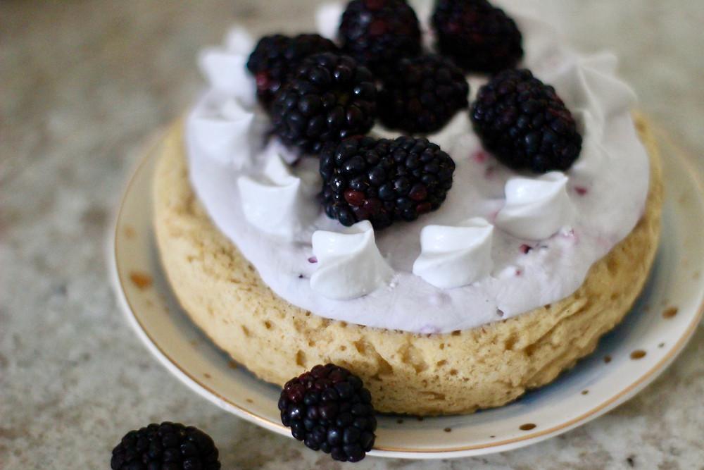 sweet potato blackberry dessert
