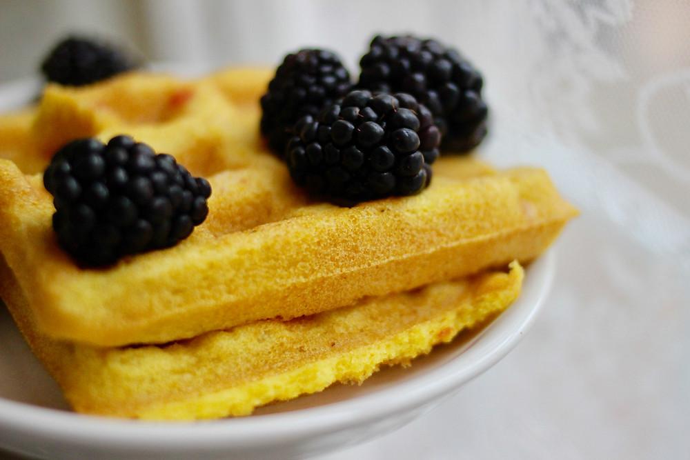 healthy grain-free anti-inflammatory waffles