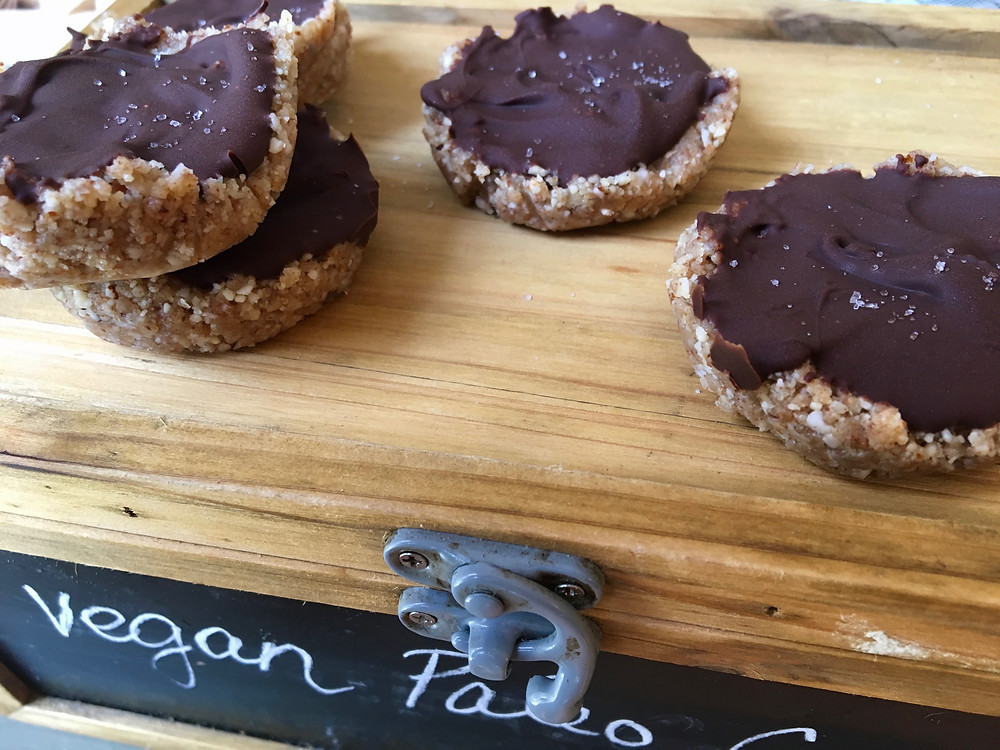 raw vegan paleo almond joy cookies