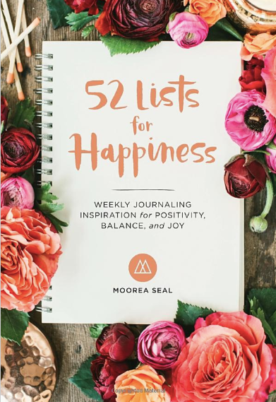 52 lists for happiness inspiration journal