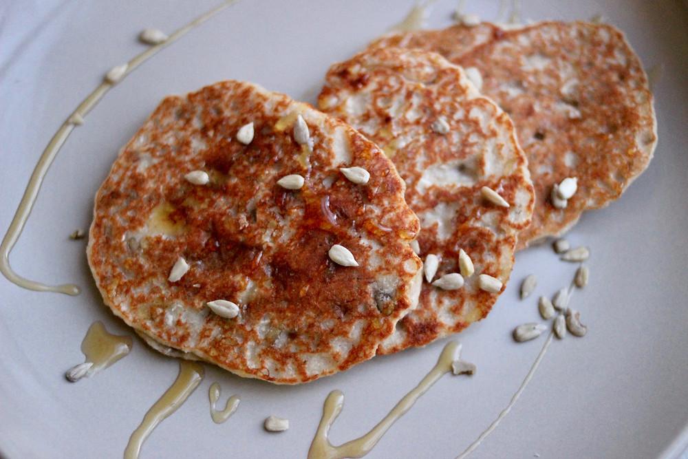 yummy gluten-free vegan pancakes