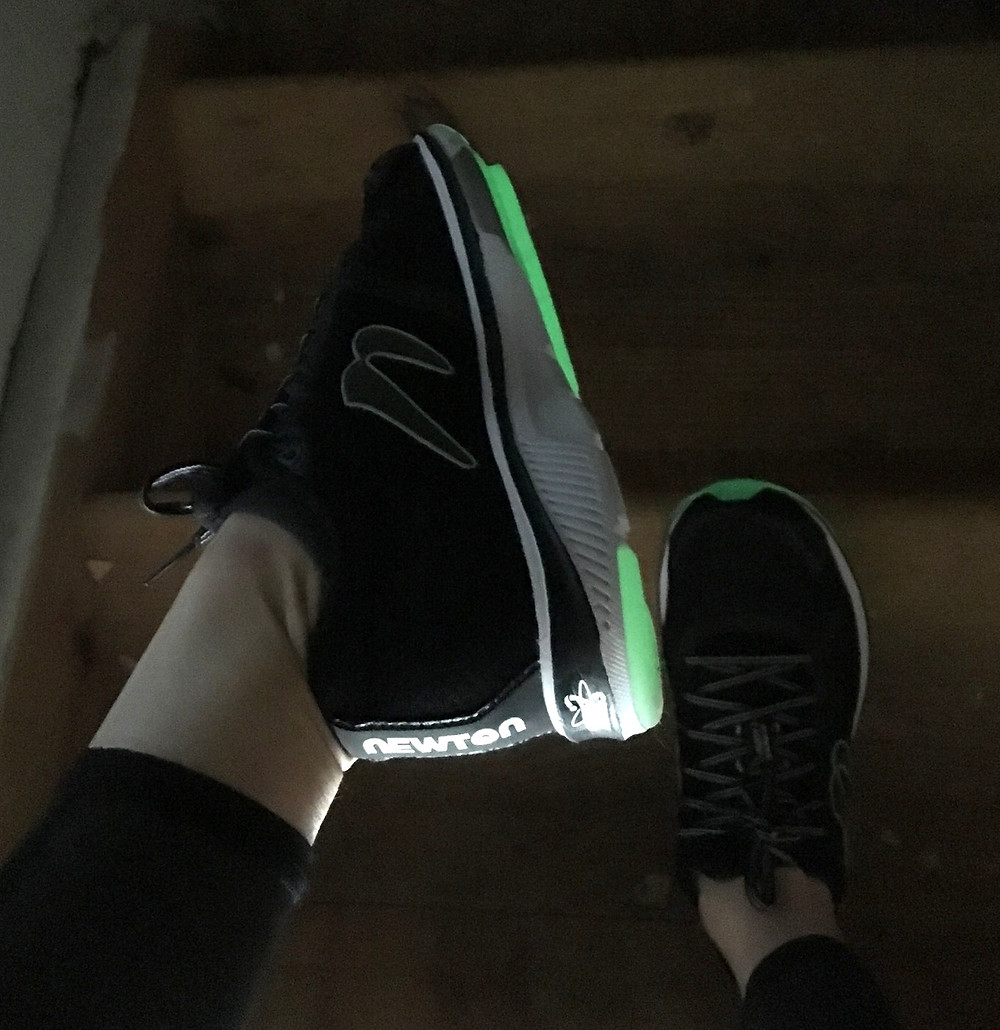 Glow in the dark Newton Running shoes