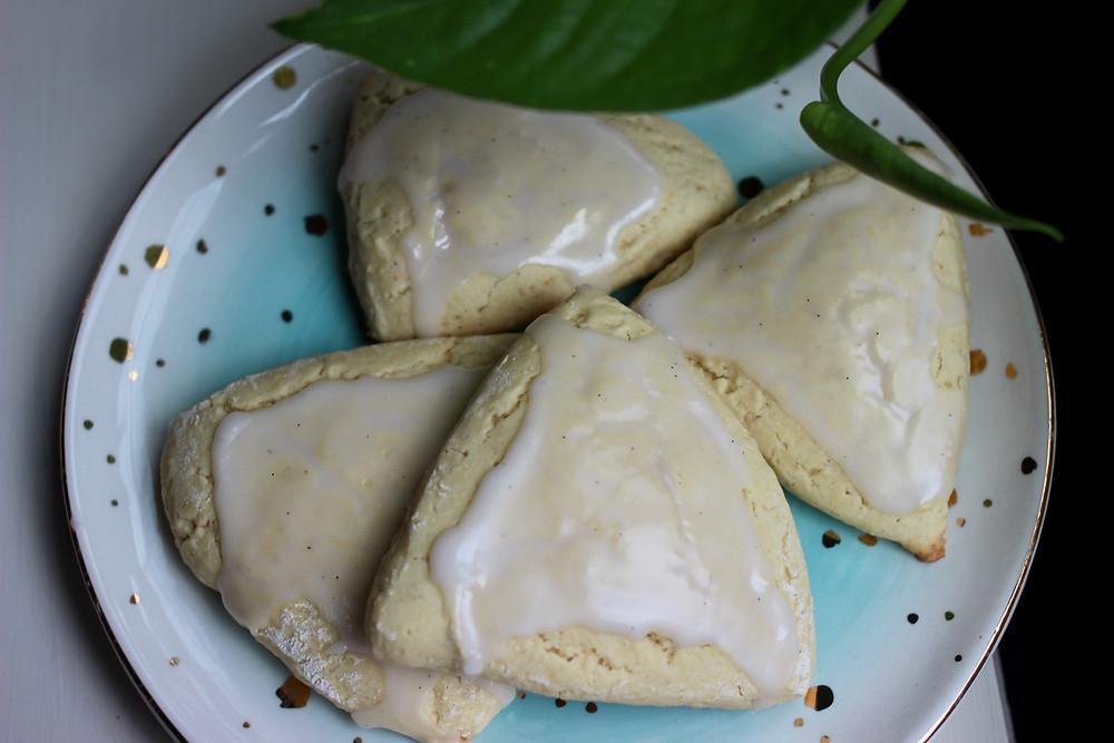 amazing GF Dairy Free Vanilla Bean Petite Scones