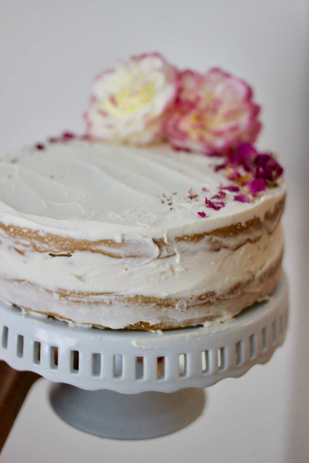 super easy healthy naked cake
