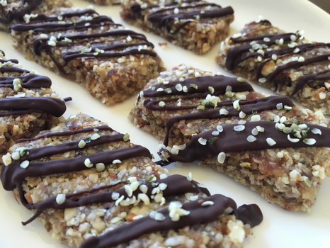 "Healthy ""Kudos"" Bars"