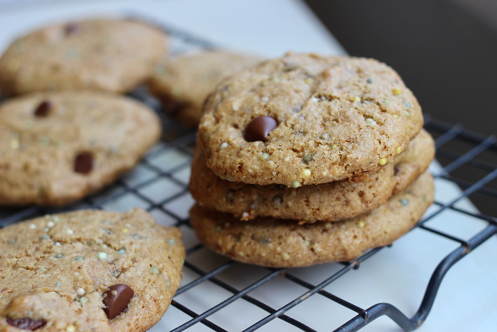 gluten-free vegan cake batter cookies