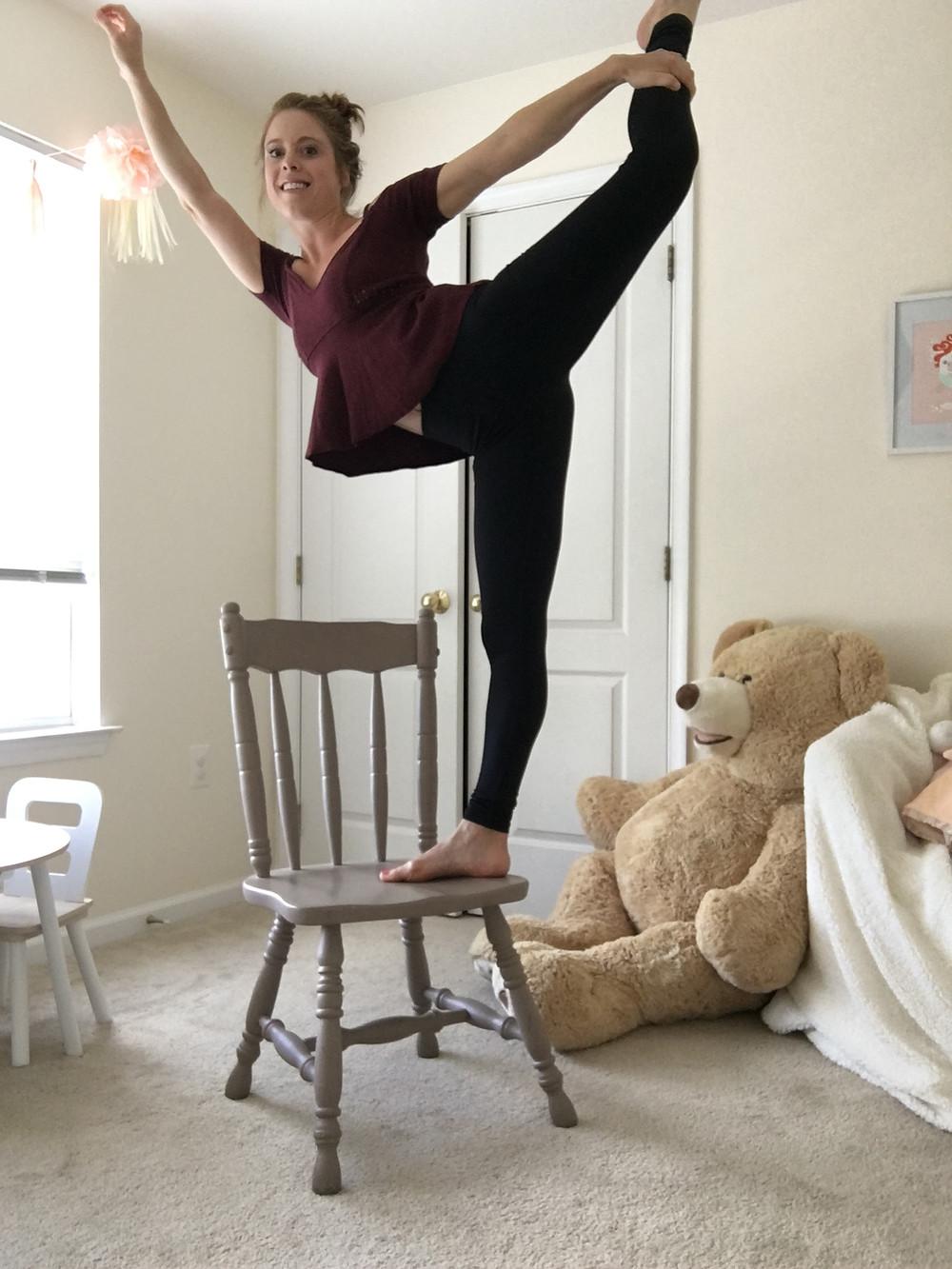 energetic cheerleading workout time