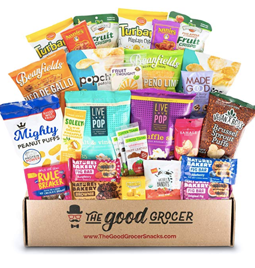 vegan organic snack pack