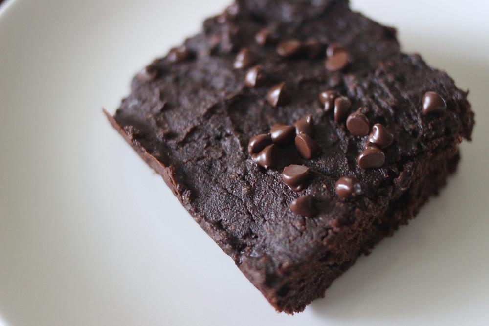 yummy vegan chia chocolate brownies