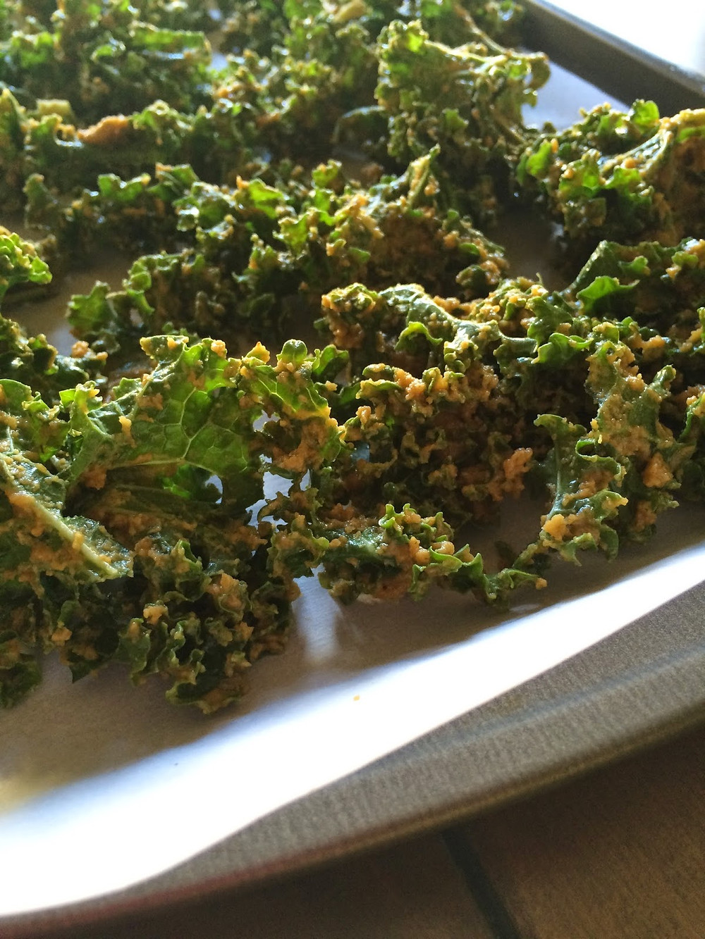 kale chips vegan and easy to make