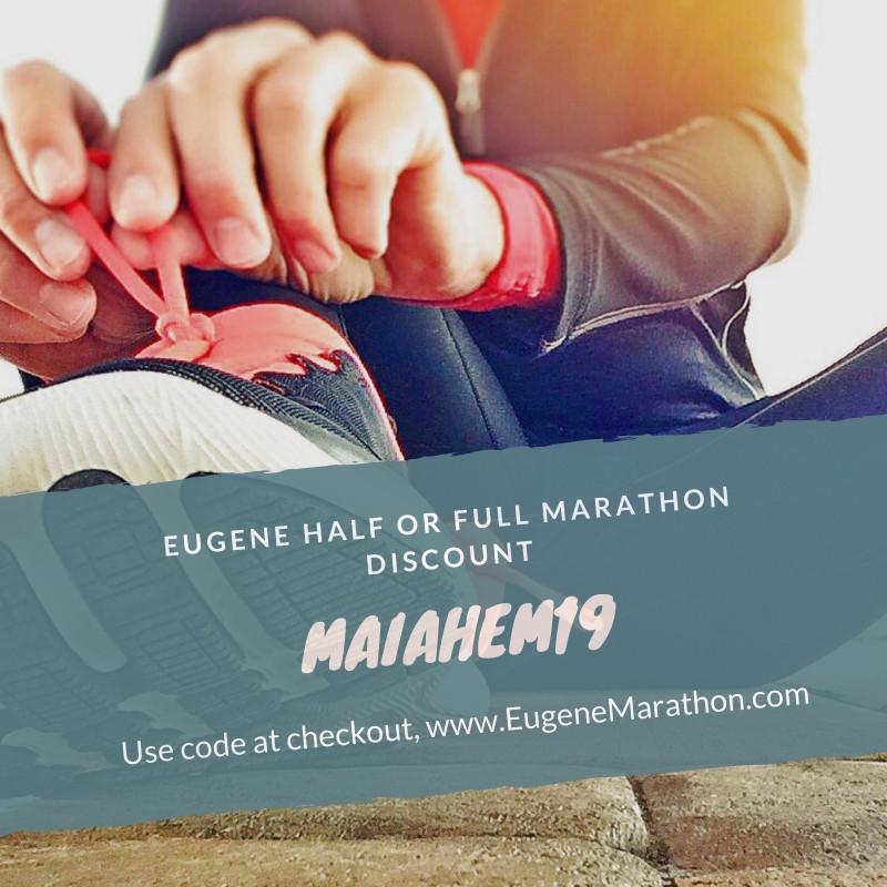 Eugene Marathon Discount Code