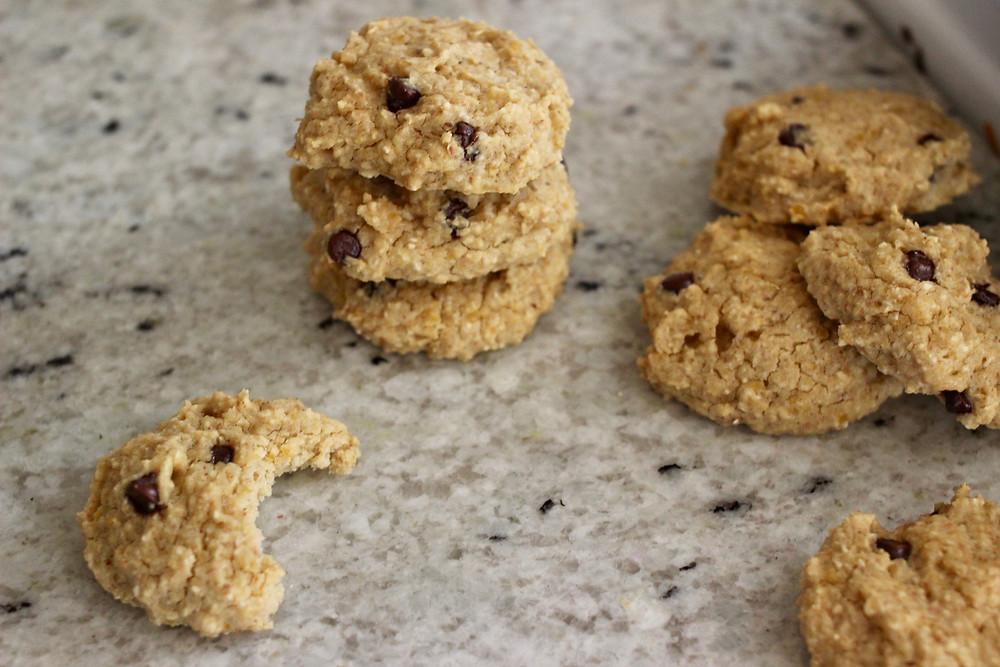 gluten-free garbanzo bean cookies
