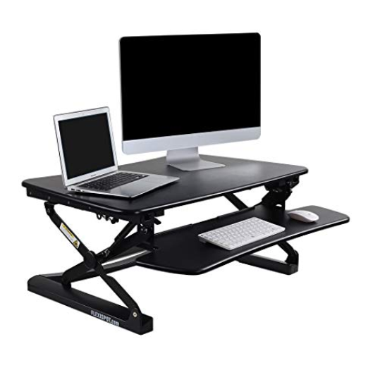 standing desk for perfect posture and strong legs
