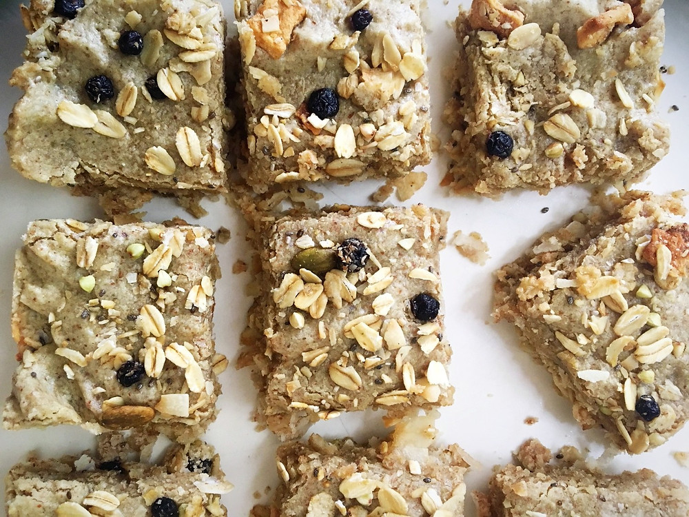 homemade vegan granola bars