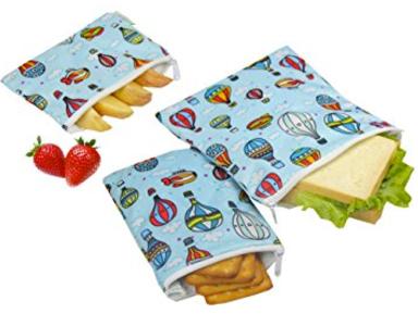 ecofriendly snack bags reusable
