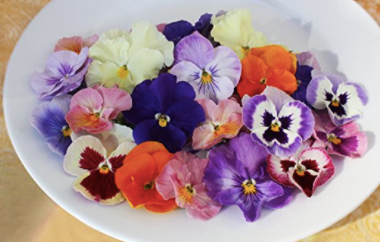gourmet fresh pansies