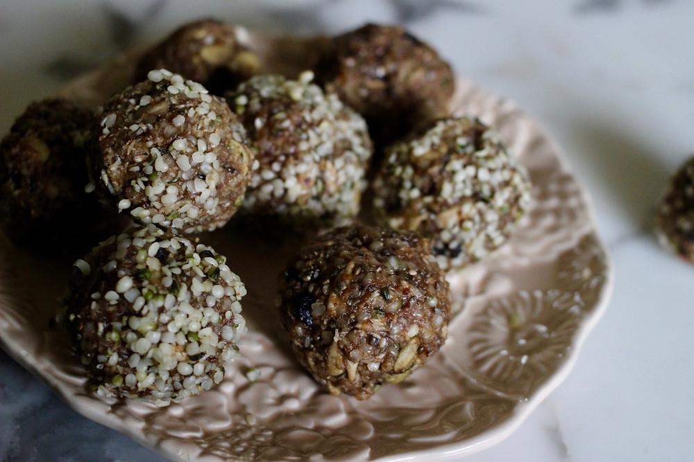 wild blueberry vegan gluten-free cookies