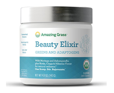 Beauty Elixir from Amazing Grass with greens and adaptogens