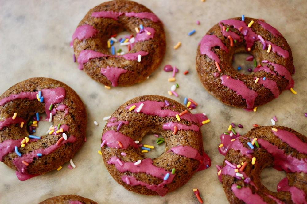 healthy vegan donuts