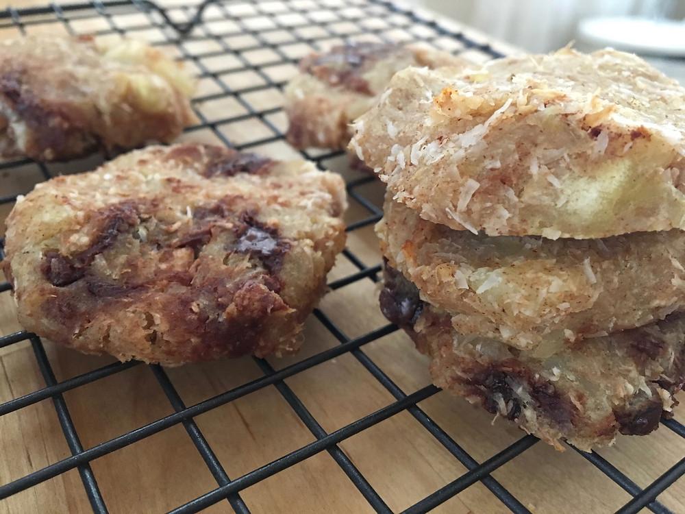 paleo vegan coconut potato cookies