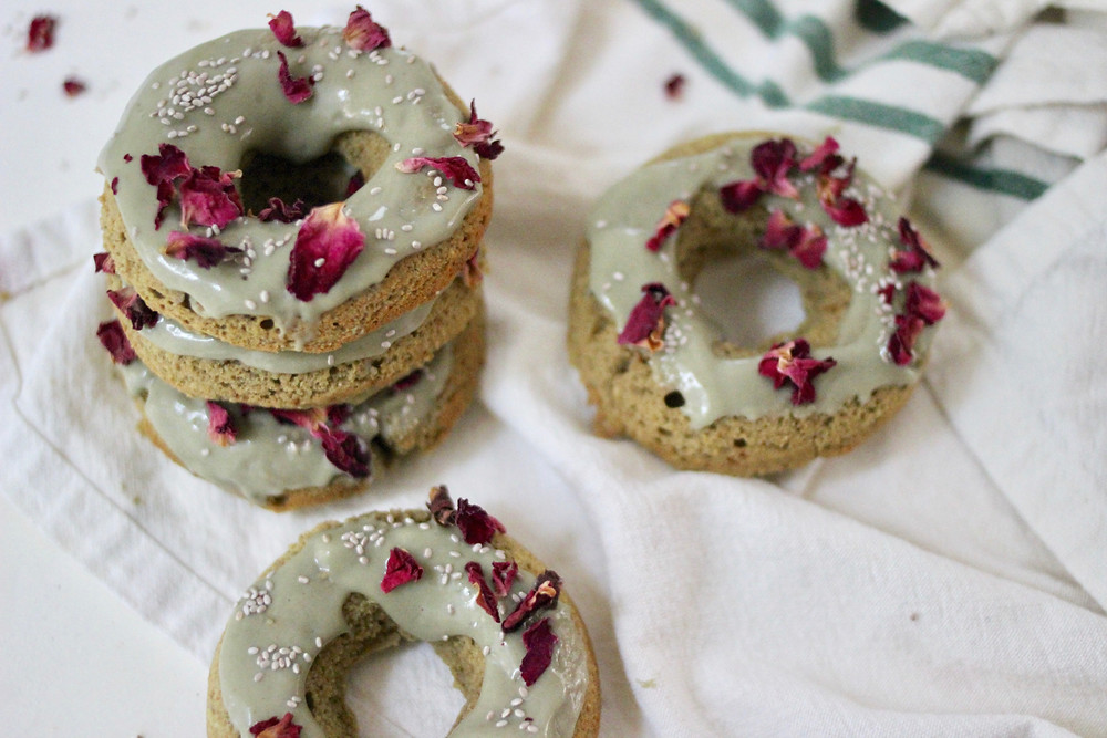 Protein Matcha Donuts