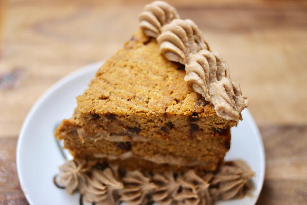 healthy paleo pumpkin cake