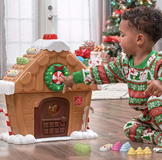 toy gingerbread house set