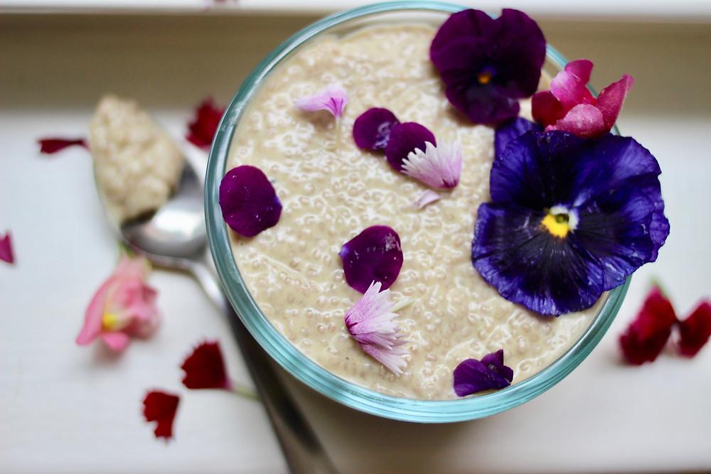 vegan chia pudding