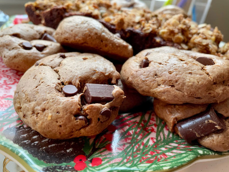 Flourless Cookies + Fairy Cupboard