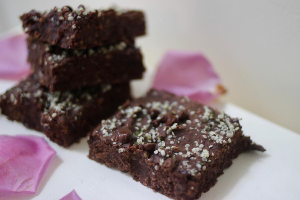 yummy allergen-free brownies vegan healthy