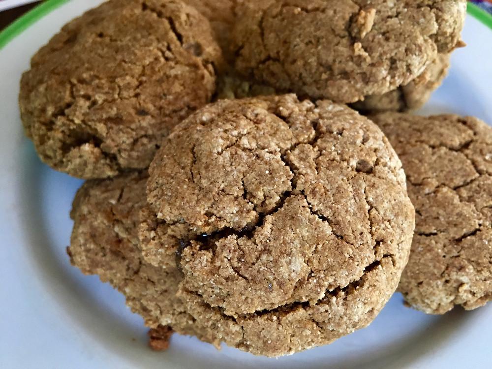 paleo AIP gingersnap cookies
