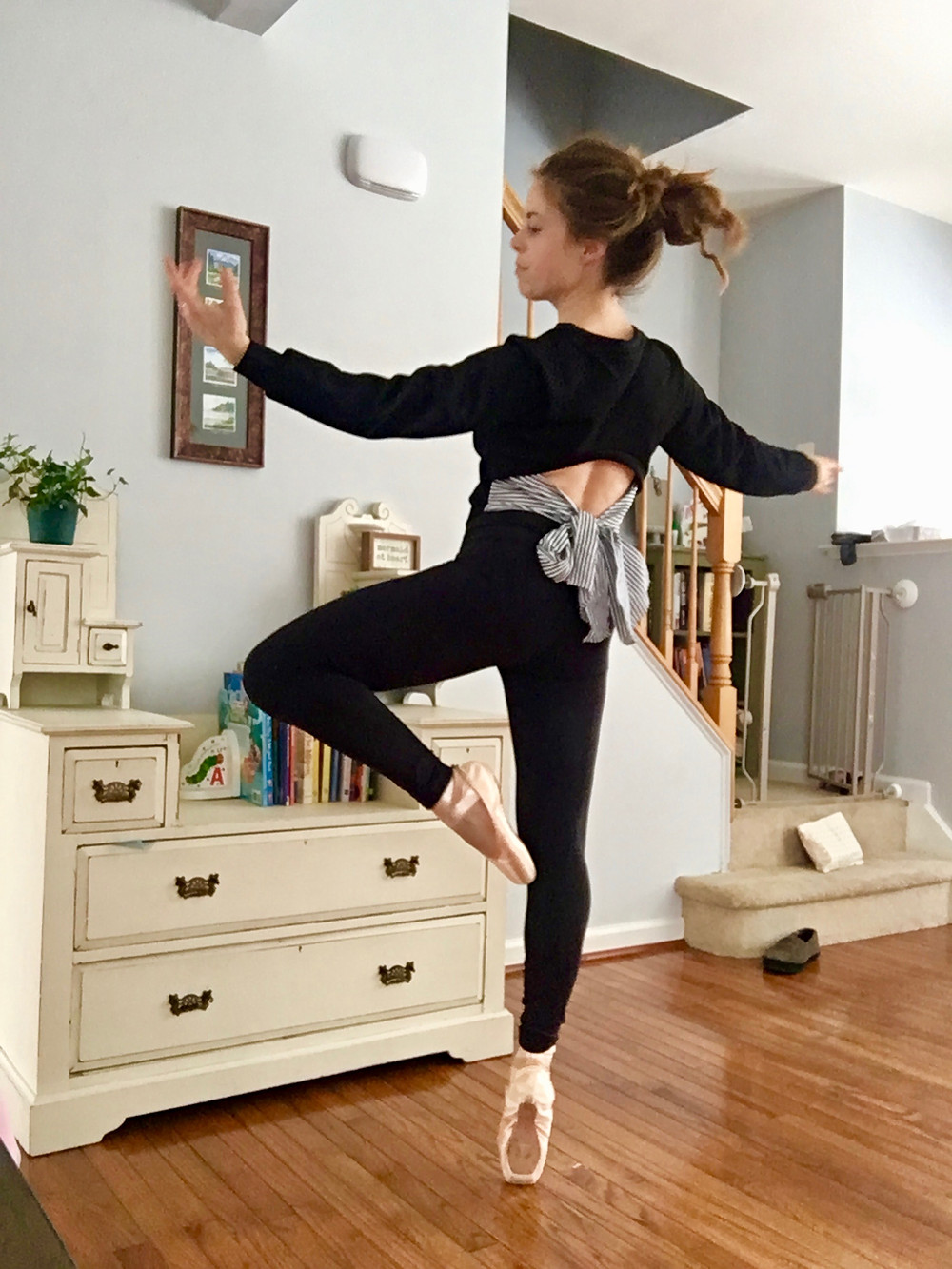 home ballet pointe workout