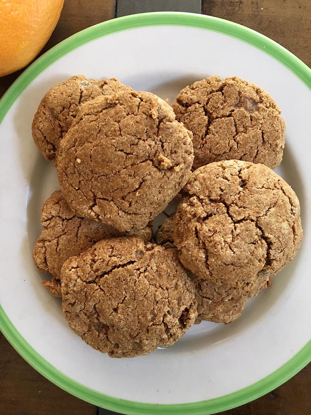 gluten-free ginger cookies