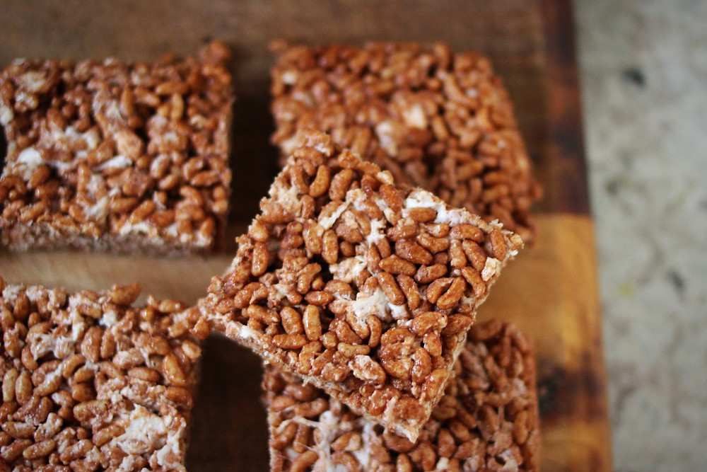 vegan rice krispies