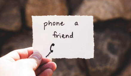 phone a friend mental health awareness
