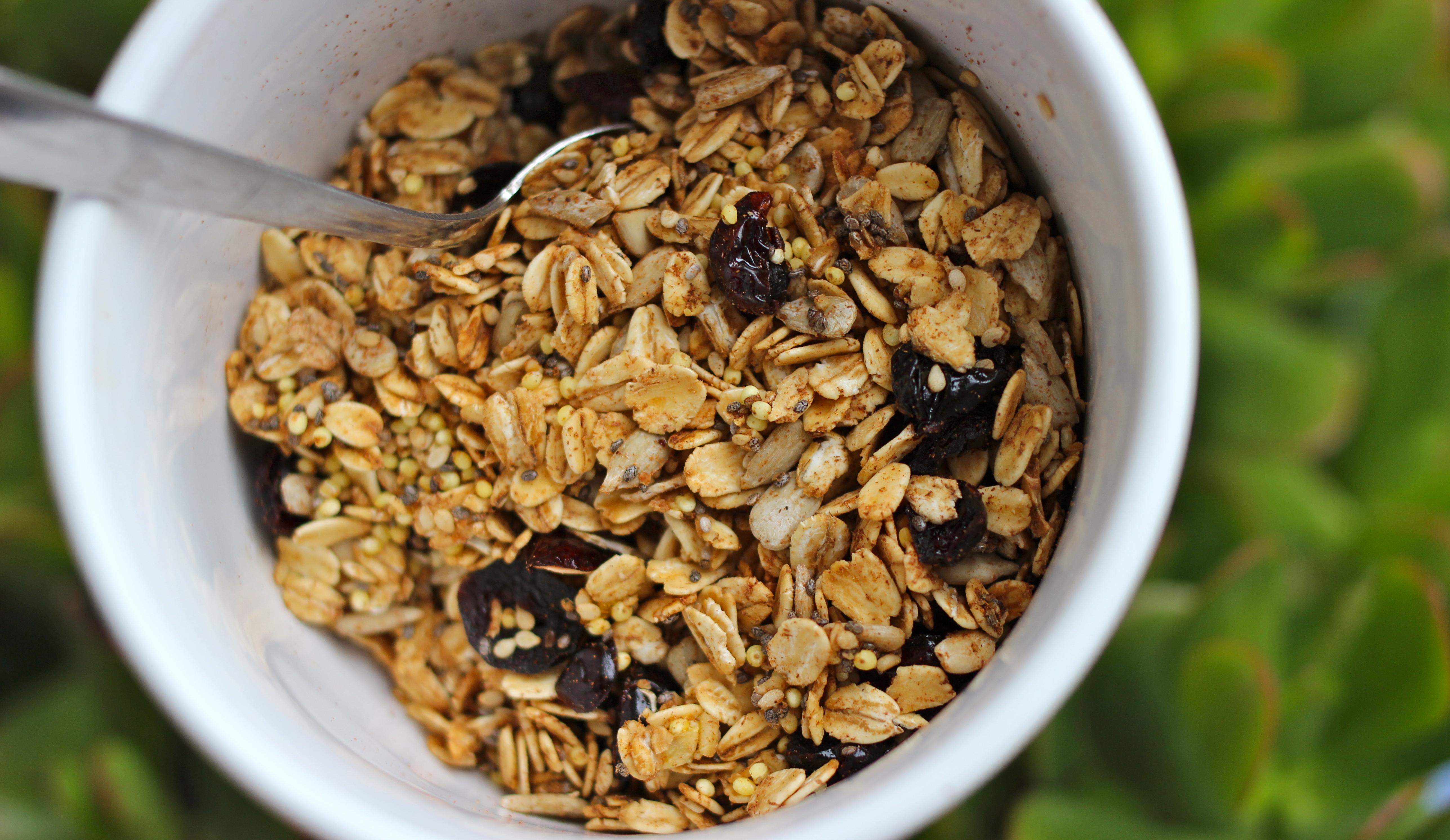 Cinnamon Seed Granola