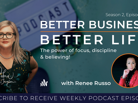 The power of focus, discipline and believing with Renee Russo - Season 2, Episode 9
