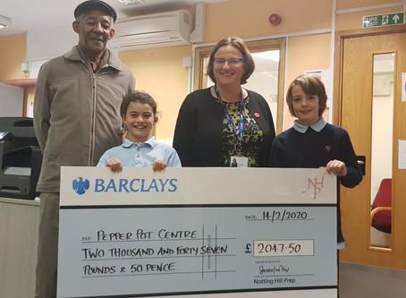 Nottinghill Prep raises sponsorship money for PPC