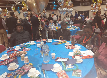 Lions Club Senior Citizens party.