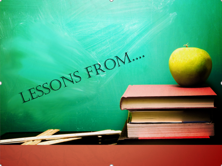 Lessons from... - Preaching series