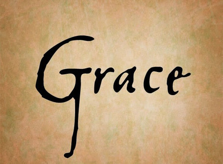 Meditation 20 -What's So Amazing About Grace?