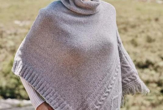 CAPA CINZA FEMININA - ANSELMI