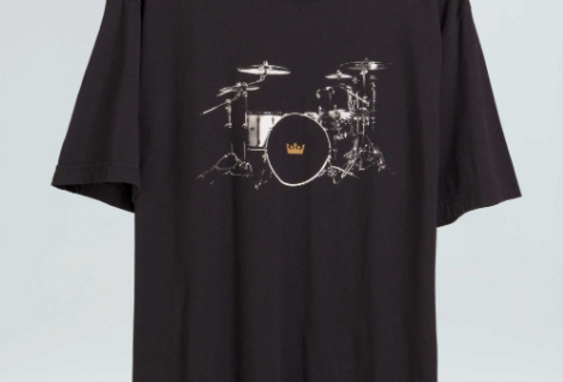 T- SHIRT VINTAGE DRUM KIT - OSKLEN