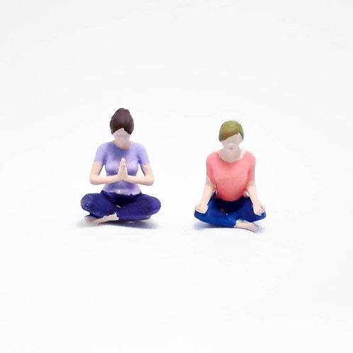 Garota meditando (unidade)