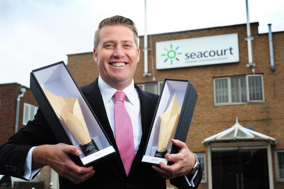 Gareth with awards at Seacourt.jpg