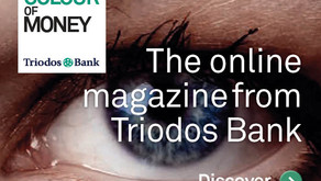 A feature on Seacourt by the Triodos Bank magazine, The Colour Of Money