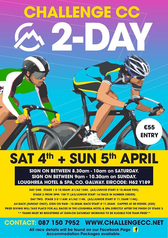 Challenge CC 2 Day Race Details